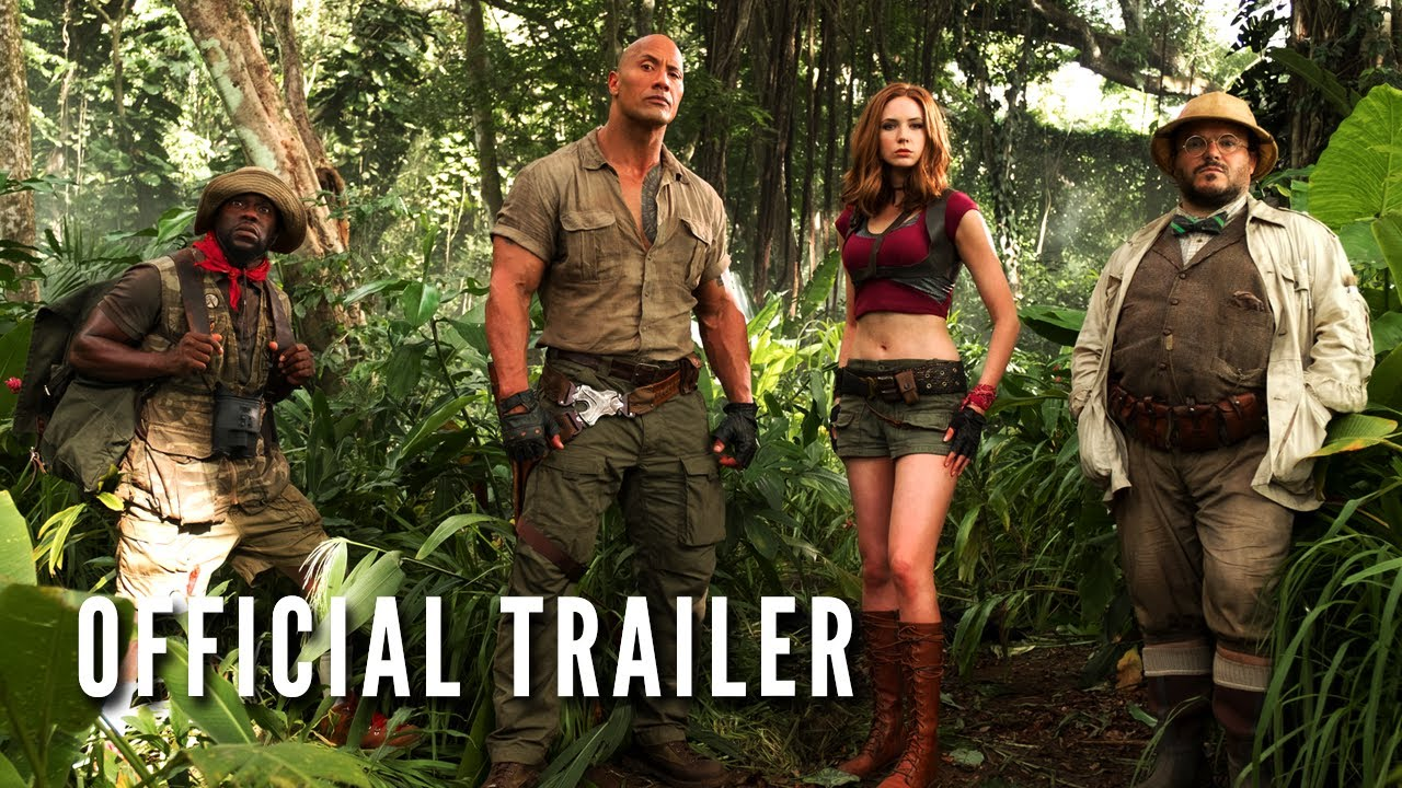 Jumanji: Welcome to the Jungle (2017) video/trailer