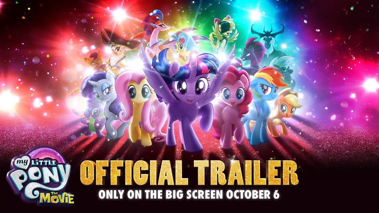 My Little Pony: The Movie (2017) video/trailer