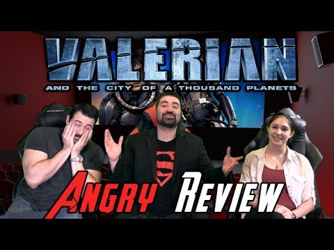 AngryJoeShow - Valerian and the city of a thousand planets angry movie review
