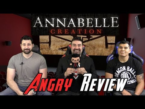 AngryJoeShow - Annabelle: creation angry movie review