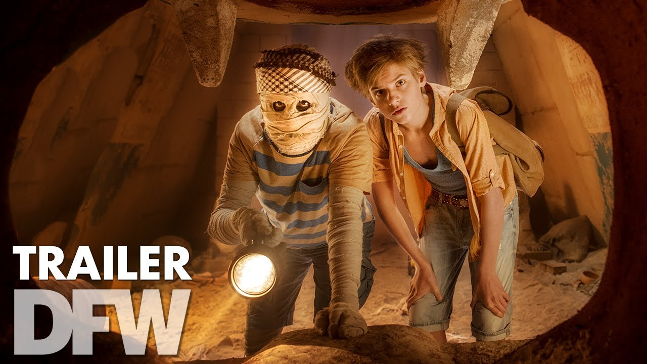Dummie de Mummie en de tombe van Achnetoet (2017) video/trailer