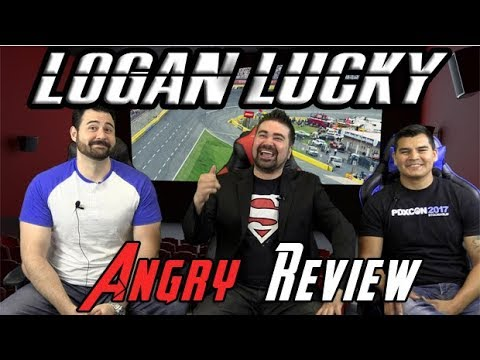 AngryJoeShow - Logan lucky angry movie review