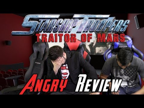 AngryJoeShow - Starship troopers 5: traitor of mars angry movie review