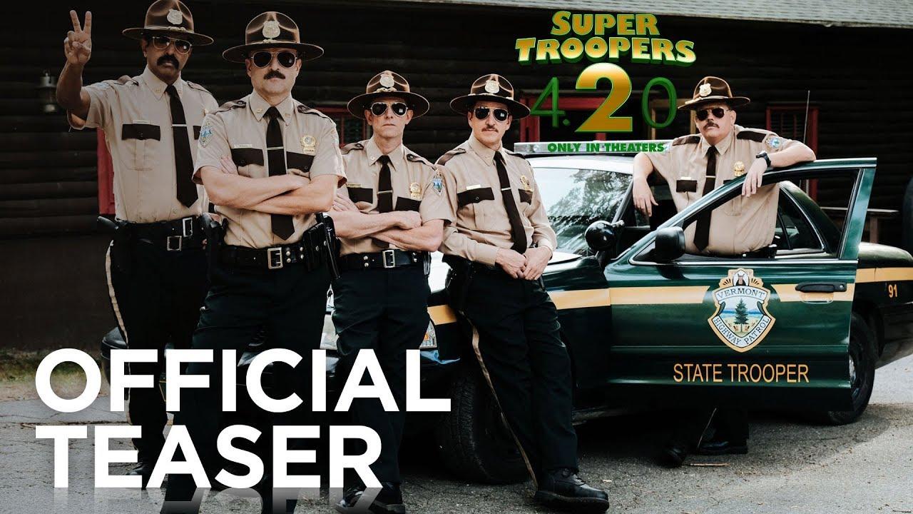 Super Troopers 2 (2016) video/trailer