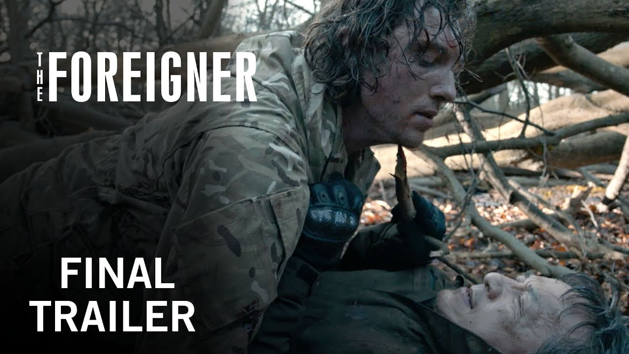 The Foreigner (2017) video/trailer
