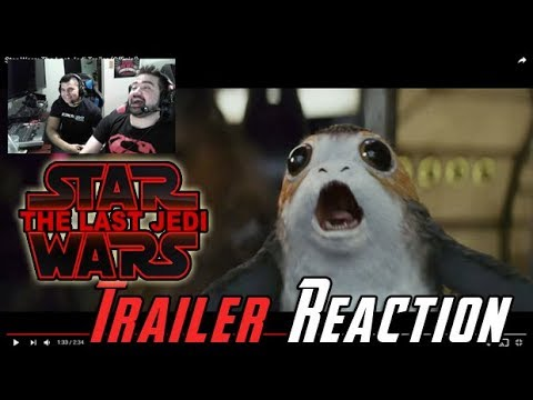 AngryJoeShow - Star wars: the last jedi trailer reaction