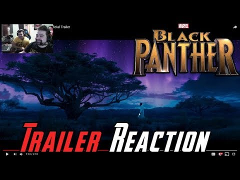 AngryJoeShow - Black panther angry trailer reaction
