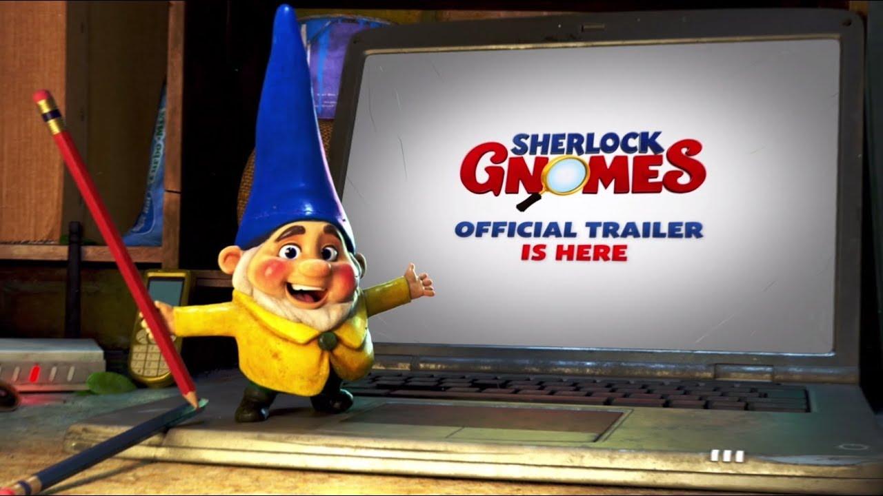 Gnomeo & Juliet: Sherlock Gnomes (2018) video/trailer