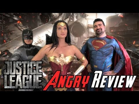 AngryJoeShow - Justice league angry movie review