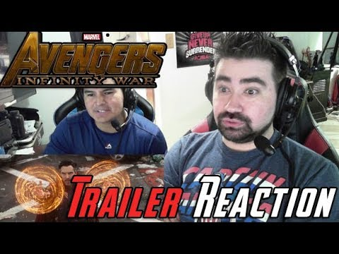 AngryJoeShow - Avengers: infinity war - angry trailer reaction!