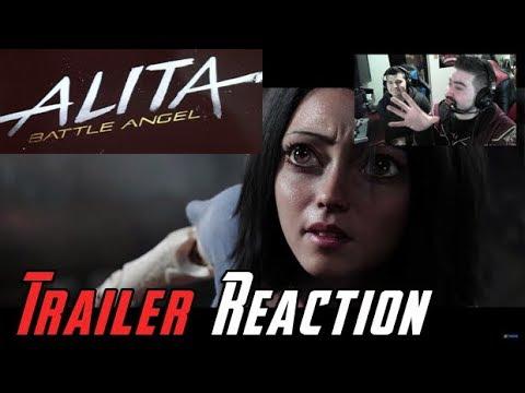 AngryJoeShow - Alita: battle angel angry trailer reaction!