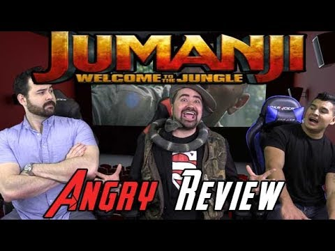 AngryJoeShow - Jumanji: welcome to the jungle angry movie review