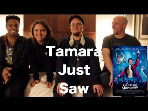 Channel Awesome - The greatest showman - tamara just saw