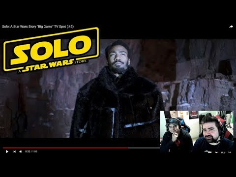 AngryJoeShow - Solo: a star wars story - angry trailer reaction!