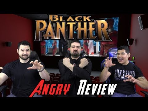 AngryJoeShow - Black panther angry movie review