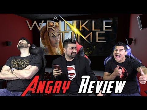 AngryJoeShow - A wrinkle in time angry movie review
