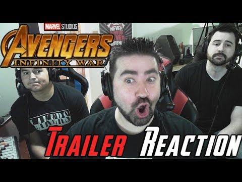 AngryJoeShow - Infinity war angry trailer reaction
