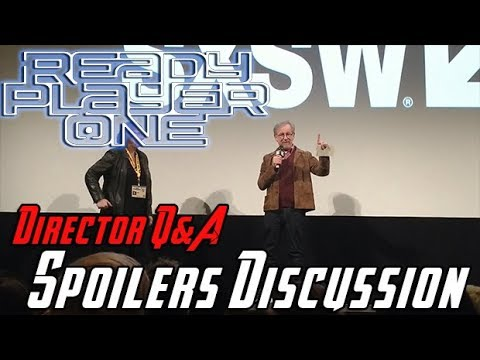 AngryJoeShow - Ready player one - steven spielberg's q&a + spoilers!