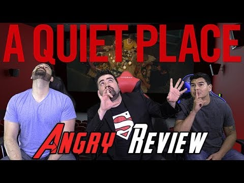 AngryJoeShow - A quiet place angry movie review