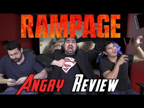 AngryJoeShow - Rampage angry movie review