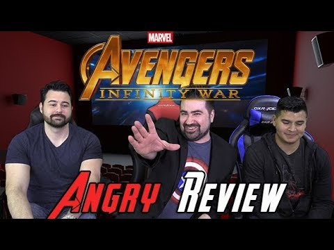 AngryJoeShow - Avengers: infinity war - angry spoilers review discussion!