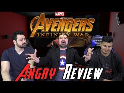 AngryJoeShow - Avengers: infinity war - angry movie review! [no spoilers]
