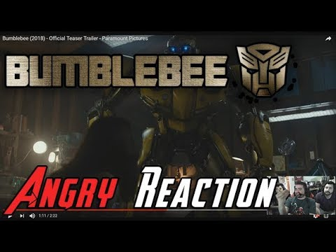 AngryJoeShow - Bumblebee trailer - angry reaction!