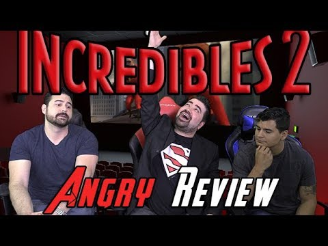AngryJoeShow - Incredibles 2 angry movie review