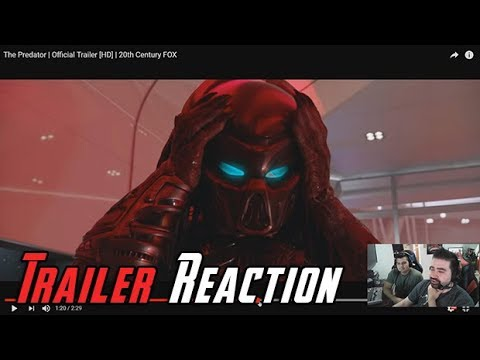 AngryJoeShow - The predator (2018) - angry trailer reaction!