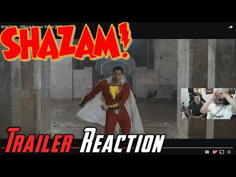AngryJoeShow - Shazam! - angry trailer reaction!