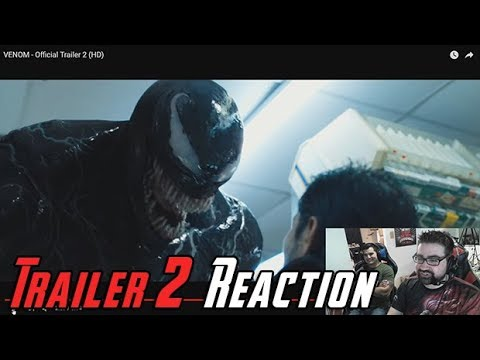 AngryJoeShow - Venom trailer #2 angry reaction