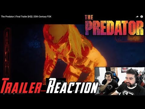 AngryJoeShow - The predator final angry trailer reaction!