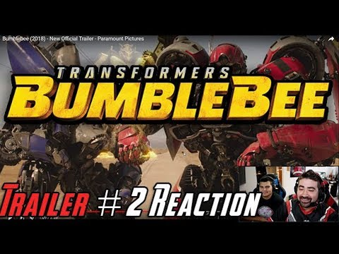 AngryJoeShow - Bumblebee trailer #2 angry reaction!