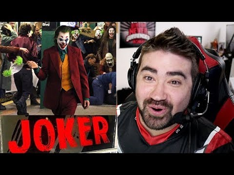 AngryJoeShow - Joaquin phoenix joker reveal - angry reaction!
