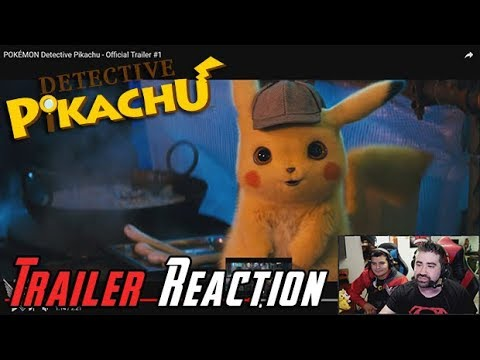 AngryJoeShow - Detective pikachu angry trailer reaction!