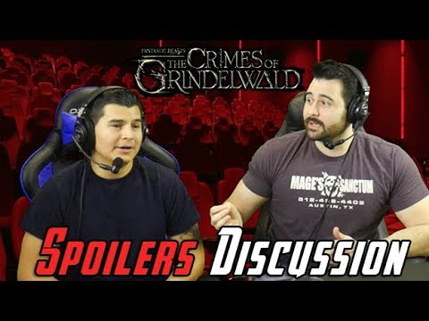 AngryJoeShow - Fantastic beasts: the crimes of grindelwald spoilers discussion