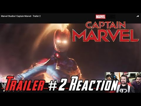 AngryJoeShow - Captain marvel - angry trailer #2 reaction!