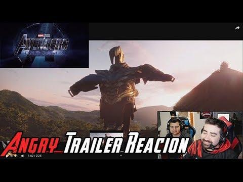 AngryJoeShow - Avengers: endgame angry trailer reaction!