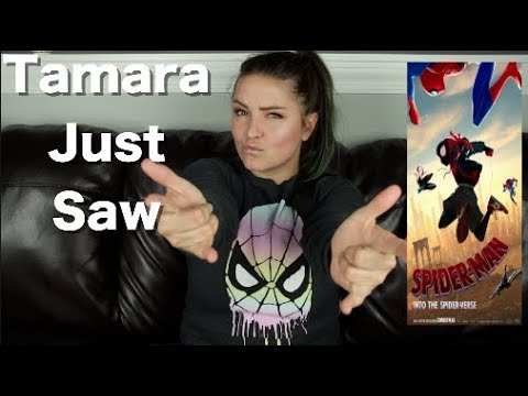 Channel Awesome - Spider-man: into the spider-verse - tamara just saw