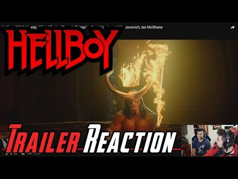 AngryJoeShow - Hellboy (2019) angry trailer reaction!