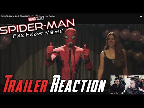 AngryJoeShow - Spider-man: far from home angry trailer reaction!