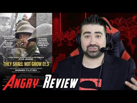 AngryJoeShow - They shall not grow old angry movie review