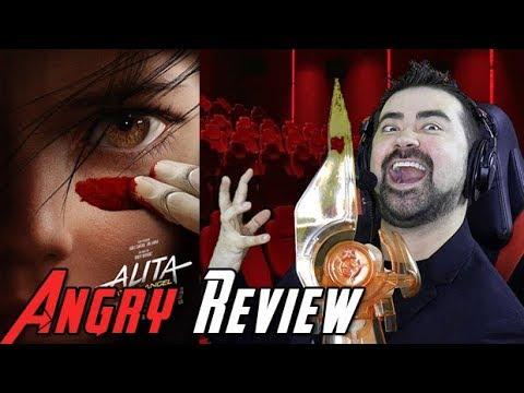 AngryJoeShow - Alita: battle angel angry review