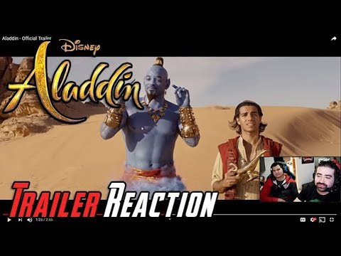 AngryJoeShow - Aladdin angry trailer reaction!