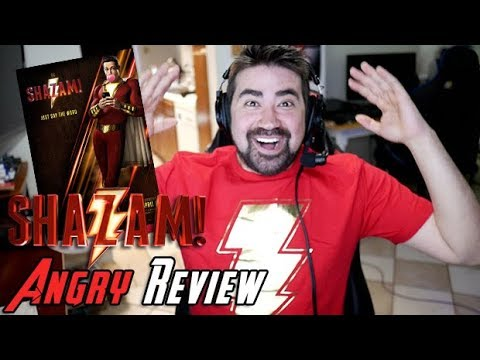 AngryJoeShow - Shazam! angry movie review [no spoilers!]