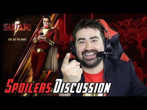 AngryJoeShow - Shazam! angry spoilers movie review & discussion!
