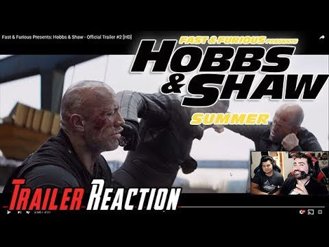 AngryJoeShow - F&f presents: hobbs & shaw - angry trailer reaction!