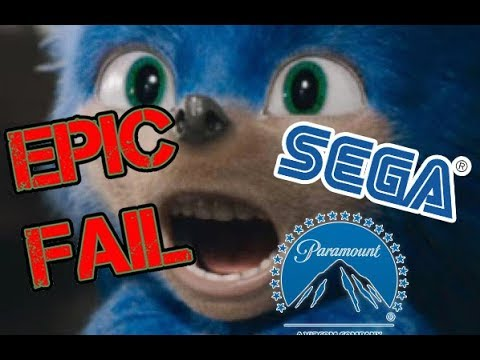 AngryJoeShow - Sonic the hedgehog - angry trailer reaction!