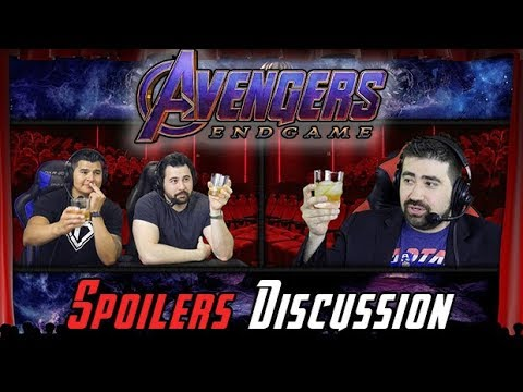 AngryJoeShow - Avengers: endgame spoilers discussion!