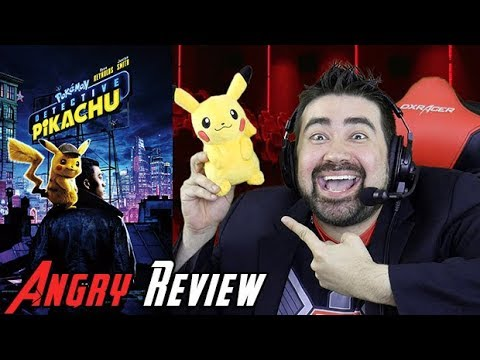 AngryJoeShow - Detective pikachu angry movie review